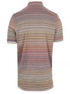 Multi-Coloured Short Sleeve Polo Shirt