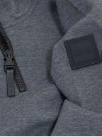 Grey ZBond Half Zip Sweatshirt