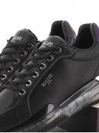 Black Kingsland Midnight Reflect Clear Sole Sneaker