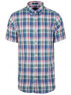 Ivy Green Check Short-Sleeve Shirt