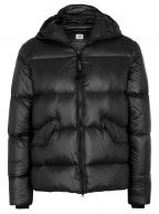 Caviar Black Quilted Goggle Jacket