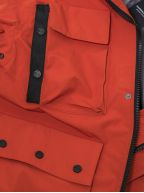 Red 3L Bonded Field Jacket