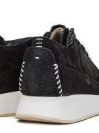 Black Suede Kiowa Sport Sneaker