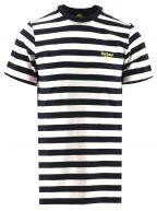 New Navy Bow Stripe T Shirt