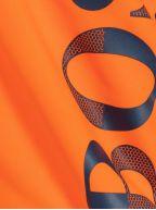 Orange Logo Swim Shorts