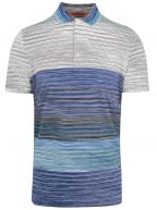 Striped Short Sleeve Polo Shirt
