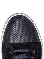 DBB1 Cap-Toe Suede & Leather Sneaker