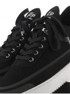 Black Low Top Ripple Meta Sneaker