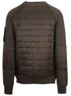 Khaki Hybrid Tech Sweatshirt