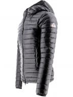 Black Bruce Hooded Jacket