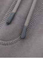 Grey Cotton Terry Logo Patch Sestart 1 Tracksuit Bottoms