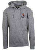 Grey Sunset on Mt. Fuji Hooded Sweatshirt
