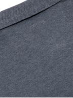 Grey Long Sleeved Polo Shirt