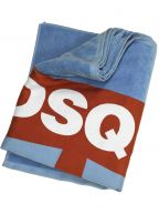 Sky Blue DSQ Maple Beach Towel
