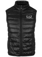 Black Down Filled Gilet