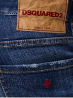 Light Rinse Distressed Slim Fit Jean