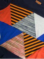Patchwork Navy T-Shirt