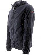 Navy Econyl Windbreaker Jacket