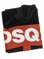 Black DSQ Maple Beach Towel