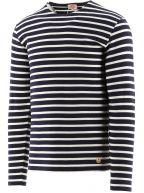 Navy Heritage Striped T-Shirt