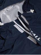 Navy Rip Stop Half Zip Jacket