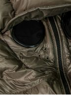 Army Green Quilted Goggle Jacket
