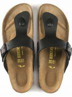 Black Ramses Leather Sandal