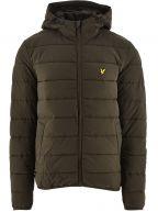 Trek Green Lightweight Puffer Jacket