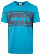 Mosaic Blue Short Sleeve T-Shirt
