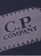 Navy Blue Patch Logo Sweatshirt