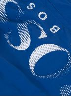 Royal Blue Octopus Swim Shorts