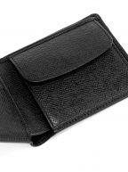 Black Signature Palmellato Leather Wallet