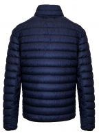 Ink Blue Garment Dyed Micro Yarn Down Filled Jacket