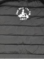 Grey MAT Down Filled Jacket