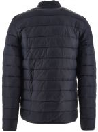 Navy Penton Quilt Jacket