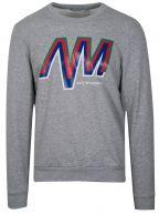 Grey Logo Crew Neck Sweatshirt