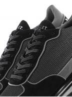 Black Popham Gas Mesh Reflect Sneaker