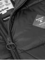 Ross Quilt Black Fibre-Down Jacket
