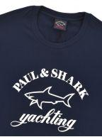 Blue Knitted Logo T-Shirt