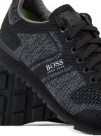Black Parkour Runn Knit Trainer