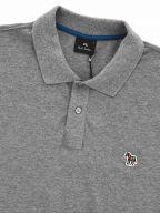 Grey Regular Short Sleeve Polo Shirt