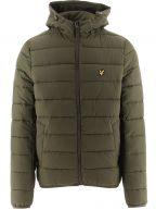Green Lightweight Puffer Jacket
