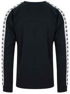 Black Auyen Banda Long-Sleeved T-Shirt