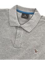 Grey Regular Fit Long Sleeve Polo Shirt