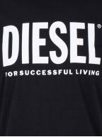 Black Diego Print Logo T-Shirt