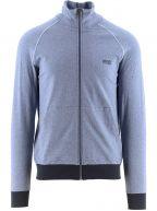 Blue Mix and Match Zipped Jacket