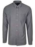 Regular Fitting Long-Sleeved Navy Shirt