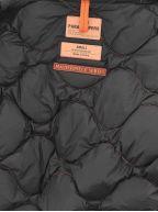 Black Gobi Base Hooded Down Bomber Jacket
