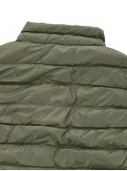 Green Down Filled Gilet