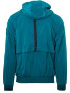 Teal Molecular Windrunner Jacket